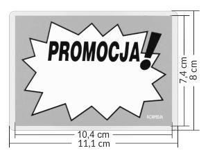 etykiety promocyjne laminowane A7