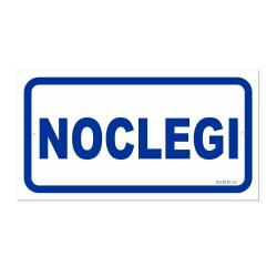NOCLEGI 30x16,5cm