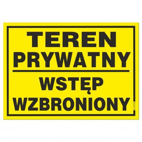 TEREN PRYWATNY 25x35cm