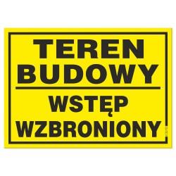 TEREN BUDOWY 25x35cm