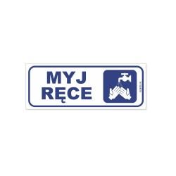 MYJ RĘCE 21x8cm