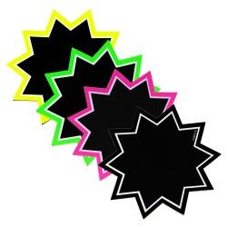 Gwiazdy foliowane czarne