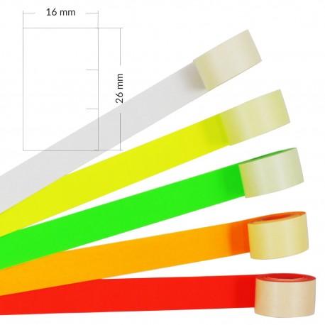 Taśmy do metkownic Tovel2 (26x16mm) - dwurzędowa, prosta