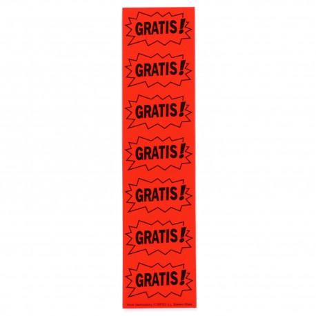 Cenówki samoprzylepne GRATIS (140 sztuk)