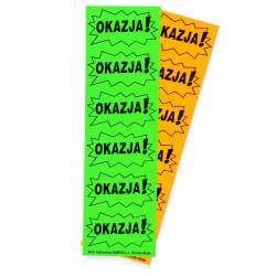 Cenówki samoprzylepne OKAZJA S (120 sztuk)
