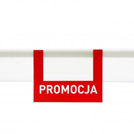 Zawieszki regałowe PROMOCJA 6,5 x 9 cm
