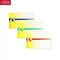 Cenówki laminowane KOKARDA A8 - 9,5x6cm