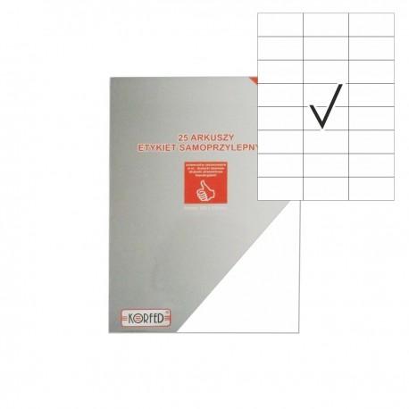 Etykiety samoprzylepne ~A4 (21x28,8cm)