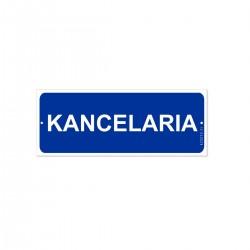 KANCELARIA 21x8cm -tabliczki