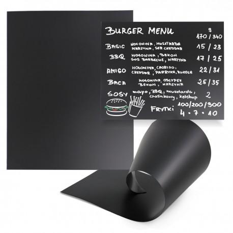 Arkusze kredowe - czarne tablice / duże