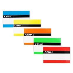Cenówki laminowane A8 - 9,5x6cm
