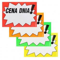 Etykiety kartonowe A5 CENA DNIA