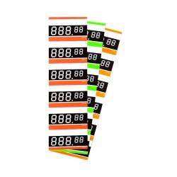 Cenówki samoprzylepne 6D (120 sztuk)