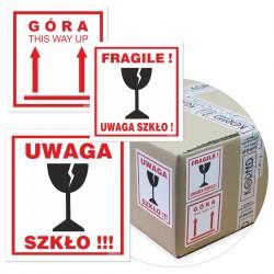 Naklejki na przesyłki / paczki