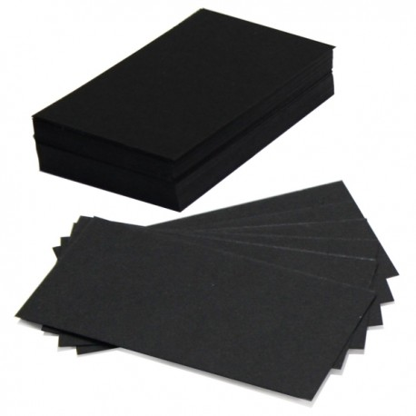 Czarne kartoniki 50 sztuk