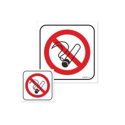 ZAKAZ PALENIA - przekreślony papieros