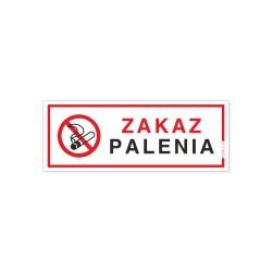 ZAKAZ PALENIA 21x8cm