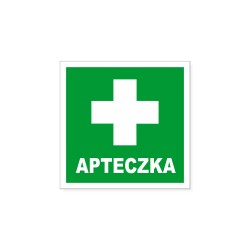 Oznakowanie APTECZKA 15x15cm