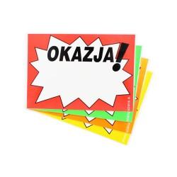 Tabliczki laminowane A5 OKAZJA