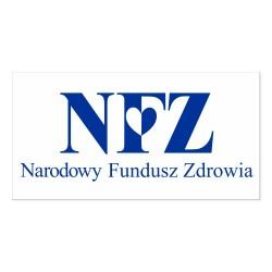 NFZ - Narodowy Fundusz Zdrowia 33x17cm