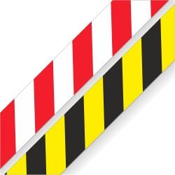 Naklejki ostrzegawcze - PASY