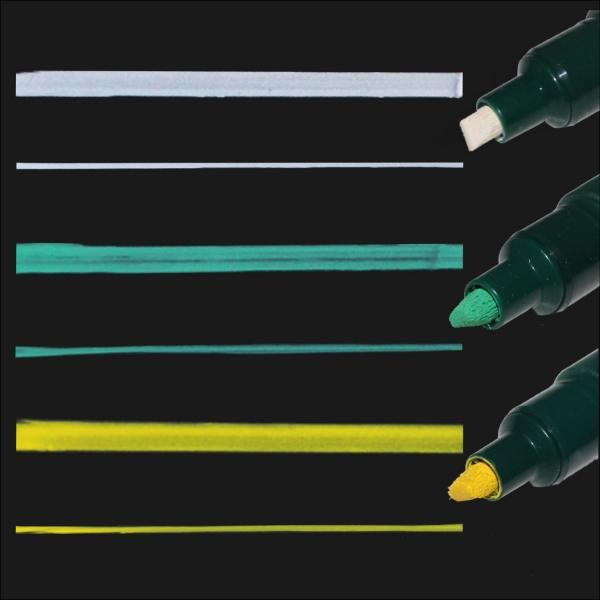 marker kredowy pentel ze ściętą końcówką